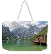 Lake Braies Weekender Tote Bag