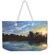 Lake Bridgeland Weekender Tote Bag