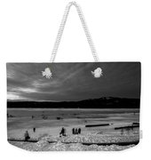 Lake Bw Weekender Tote Bag