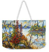 Lake Cartier Weekender Tote Bag