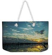 Lake Champlain Vermont Sunrise - 2 Landscape Weekender Tote Bag