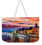 Lake Como - Bellagio  Weekender Tote Bag