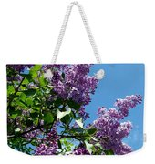 Lake Country Lilacs Weekender Tote Bag