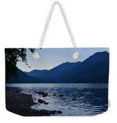 Lake Crescent Weekender Tote Bag