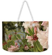 Lake Crescent Lodge Rhododendrons Weekender Tote Bag