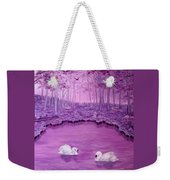 Lake Fantasy Weekender Tote Bag