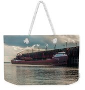 Lake Freighter - Honorable James L Oberstar Weekender Tote Bag