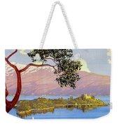 Lake Garda 1920s French Weekender Tote Bag