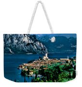 Lake Garda Weekender Tote Bag