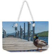 Lake George Duck Weekender Tote Bag