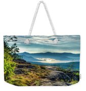 Lake George From Cat Mountain 1 Weekender Tote Bag