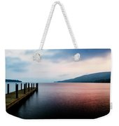 Lake George Sunrise 3 Weekender Tote Bag