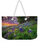 Lake Grapevine Twilight Weekender Tote Bag
