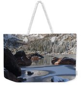 Lake Haiyaha  Weekender Tote Bag