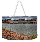 Lake Hefner Dock Weekender Tote Bag