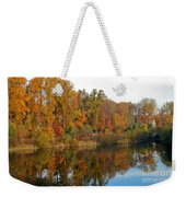 Lake Helene And Fall Foliage Weekender Tote Bag