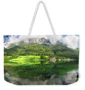Lake Hintersee Weekender Tote Bag