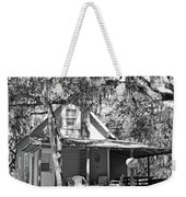 Lake House Black And White Weekender Tote Bag