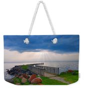 Lake Huron Michigan Weekender Tote Bag