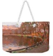Lake In Bear Mountin Weekender Tote Bag
