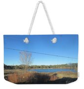 Lake In Lakeside Weekender Tote Bag