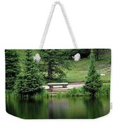 Lake Irene Dressed In Green Weekender Tote Bag