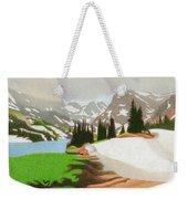 Lake Isabelle Storm Weekender Tote Bag