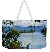 Lake Islet Weekender Tote Bag