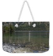 Lake Jenny Grand Tetons Weekender Tote Bag