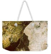 Lake Level Dropping Weekender Tote Bag