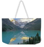 Lake Louise Sunrise Weekender Tote Bag
