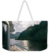 Lake Lucerne From A Boat  Weekender Tote Bag