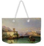 Lake Maggiore Weekender Tote Bag by George Edwards Hering
