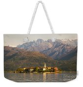 Lake Maggiore, Stresa, Piedmont, Italy Weekender Tote Bag
