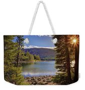 Lake Mary Forest Star Weekender Tote Bag