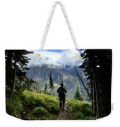 Lake Mcdonald From Mt Brown - Glacier National Park Weekender Tote Bag