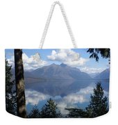 Lake Mcdonald Glacier National Park Weekender Tote Bag