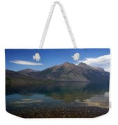 Lake Mcdonald Reflection Glacier National Park 2 Weekender Tote Bag