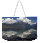 Lake Mcdonald Reflection Glacier National Park Weekender Tote Bag