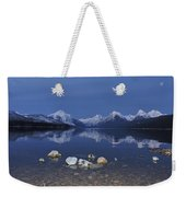 Lake Mcdonald Rocks Weekender Tote Bag