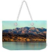 Lake Mead Before Sunset Weekender Tote Bag