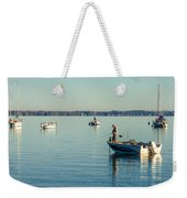 Lake Mendota Fishing Weekender Tote Bag