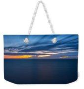 Lake Michigan Long Exposure  Weekender Tote Bag