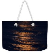Lake Michigan Moonrise Weekender Tote Bag