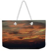Lake Michigan Sunset Photograph Weekender Tote Bag