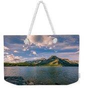 Lake Minnewanka Banff II Weekender Tote Bag