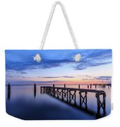Lake Monroe At Twilight Weekender Tote Bag