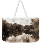 Lake Morris Weekender Tote Bag
