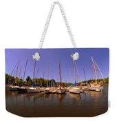 Lake Murray S C Marina Weekender Tote Bag