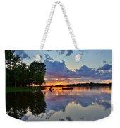 Lake Murray Sc Reflections Weekender Tote Bag
